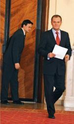 Za reformę specsłużb będzie odpowiadać Jacek Cichocki (na zdjęciu z Donaldem Tuskiem)