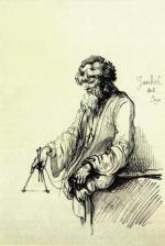 Jankiel, rys. Cyprian Kamil Norwid, Rzym 1848 r.