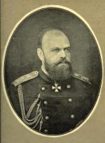 Portret cara Rosji Aleksandra III Romanowa