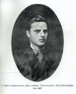 Józef Łukaszewicz (1863 – 1928), po zwolnieniu z Szlisselburga profesor w Petersburgu, a po odzyskaniu niepodległości profesor geologii Uniwersytetu Stefana Batorego w Wilnie