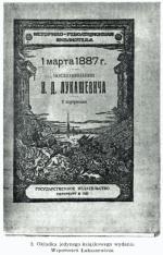 """Winieta """"Wspomnień"""" Józefa Łukaszewicza o """"Dziele 1 marca 1887"""". Polskie tłumaczenie ukazało się dopiero w 1981 roku."""