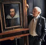 Prof. Stanley Wells prezentuje portret Szekspira z roku 1610