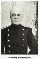 Aleksiej Sidielnikow, naczelnik więzienia, od którego decyzji zależało wykonanie badań lekarskich na aresztowanym Józefie Piłsudskim