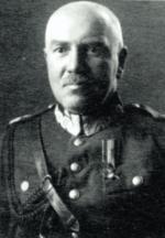 """Gen. Antoni Szylling, dowódca Armii """"Kraków"""""""