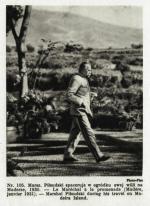 Józef Piłsudski podczas pobytu na Maderze, 1930 rok