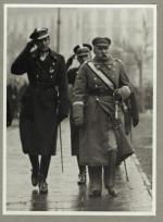 Z ppłk. Józefem Beckiem przed objęciem przez niego funkcji ministra spraw zagranicznych w 1932 roku