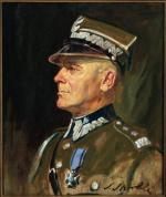 Marszałek Edward Rydz-Śmigły w mundurze marszałkowskim