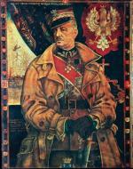 Generał broni Władysław Sikorski według ryciny z 1940 roku