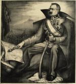 Litografia Konrada Srzednickiego (1894-1993) z 1931 roku