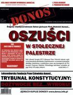 """Okładka """"Donosu"""", który trafił do parlamentarzystów"""