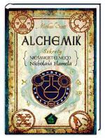 """""""Alchemik"""",  autor: Michael Scott, wyd. Nasza Księgarnia"""