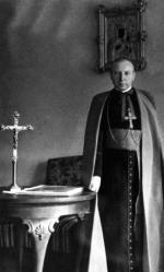 Jan Bułhak sfotografował  kardynała Stefana Wyszyńskiego