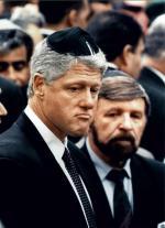 Bill Clinton z autorem – Szewachem Weissem
