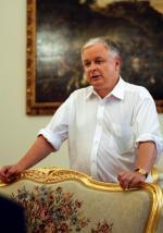 Podczas spotkań Lecha Kaczyńskiego ze współpracownikami panuje nieformalna atmosfera