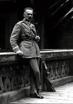 Józef Piłsudski podczas wizyty w Rumunii w 1922 r.
