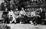 Józef Piłsudski z rumuńską rodziną królewską