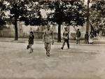 Józef Piłsudski powracający z GISZ do Belwederu. 1931 r.