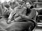 Józef Piłsudski z córkami w Krynicy. 1934 r.