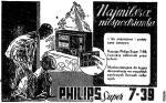 W roku 1938 takie radio Philipsa pod choinką było najmilszą niespodzianką. Dziś też, ale już jako zabytek do ozdoby wnętrza