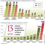 Do 2020 r. Polska musi mieć zgodnie z unijnym zobowiązaniem 15 proc. energii z odnawialnych źródeł. Inwestorzy stawiają głównie na farmy wiatrowe, bo to sprawdzona technologia.