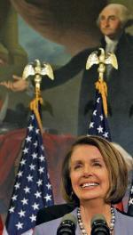 Nancy Pelosi cieszyła się z nowej ustawy o reformie służby zdrowia