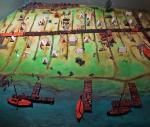 Makieta wikińskiej osady Ribe w Danii