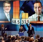 Bronisław Komorowski wygrał z Radosławem Sikorskim ponaddwukrotną przewagą głosów