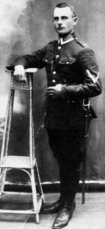 Aspirant Wojciech Malinowski,  polski policjant z Brześcia