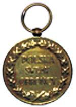 Rewers medalu pamiątkowego za wojnę 1918 – 1920