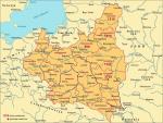 Rozmieszczenie osadników w województwach wschodnich