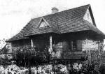 Dom osadnika w osadzie Wierciszki  w pow. Grodno