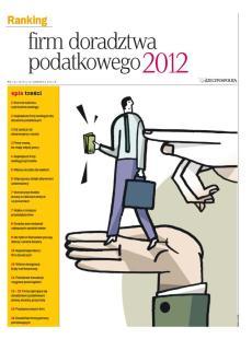 Ranking Firm Doradztwa Podatkowego - Edycja 2012