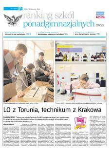 Ranking Szkół Ponadgimnazjalnych - Edycja 2011