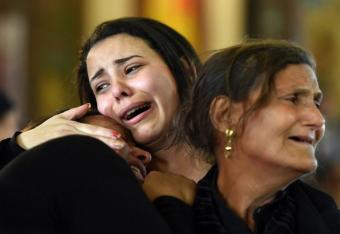 Smutek i determinacja egipskich chrześcijan