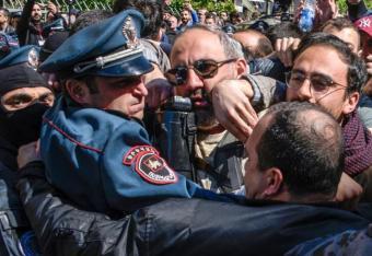 Masowe zamieszki w stolicy Armenii. Są ranni