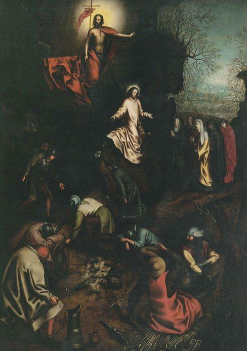 "≥Pieter Bruegel St. ""Zmartwychwstanie"", 1563"