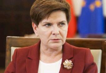 Premier Szydło: unijne symbole nie znikną
