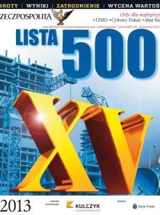 Lista 500  - Edycja 2013