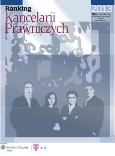 Ranking Kancelarii Prawniczych - Edycja 2013