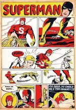 SUPERMAN to archetyp komiksowych superbohaterów. Został stworzony w 1938 roku przez Joe Schustera i Jerry'ego Siegela, a jego pierwowzorem była postać złoczyńcy  o telepatycznych zdolnościach. Ale nie tylko ich prace są cenione. Komiks z Supermanem spod ręki Edwarda Lutczyna zlicytowano w Desie  za 8 tys. zł.