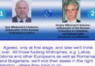 Dyplomatyczna pogawędka Rosjan