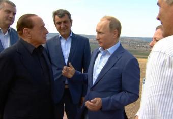 Berlusconi: Krym najpiękniejszą częścią Rosji
