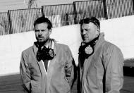 Rinke Rooyens i Sławomir Nowaczewski w sesji zdjęciowej dla Sukcesu - making off