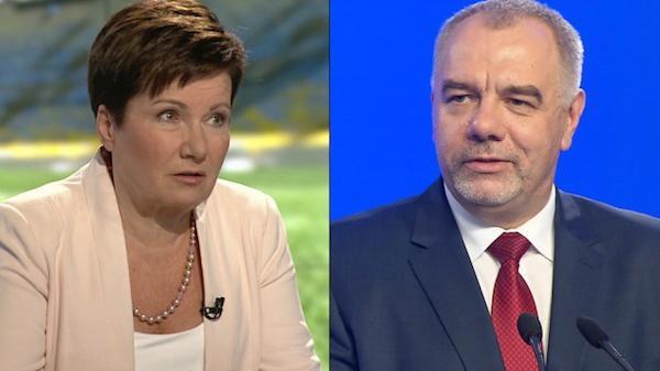 Debata warszawska: Gronkiewicz-Waltz kontra Sasin [RELACJA]