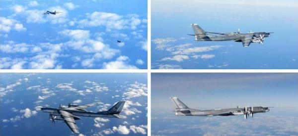NATO ujawnia zdjęcia rosyjskich samolotów