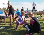 Agenci chętnie konkurowali w ćwiczeniach na wytrzymałość i refleks.