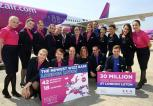 Wizz Air z bazą w Londynie Luton