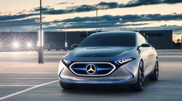 E-koncept spod znaku gwiazdy – Mercedes EQA
