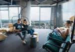 Spółka Echo stołeczne biura ma wbudynku Q22. Jest tu m.in. strefa relaksu.