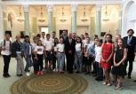 Młodzi Polonusi poznają kraj przodków